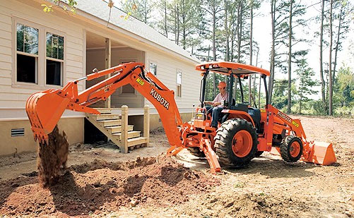 Kubota Tractor Backhoe Buckets : Kubota everything there is to know about tractors